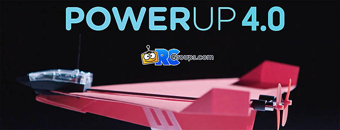 PowerUP 4.0 Smart Paper Airplanes