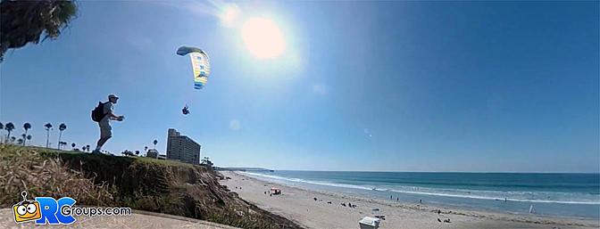 Slope Soaring RC Paraglider - Video