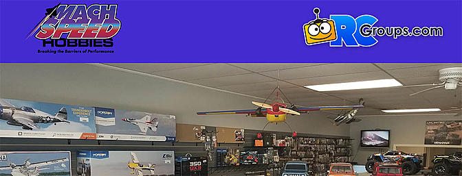 RCGroups Place of the Month - Mach Speed Hobbies