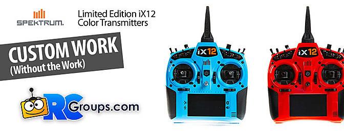 Limited Edition Spektrum iX12 Transmitters