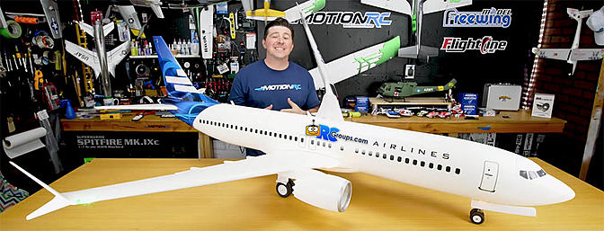 Behind the Scenes Look at MotionRC AL37 Airliner Stress Tests