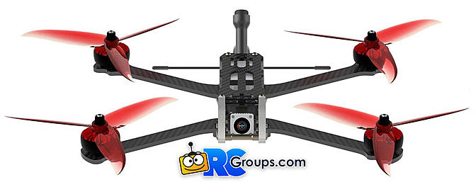 Armanttan Rooster DJI FPV Conversion Kit