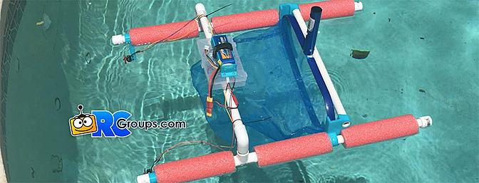 DIY RC Pool Skimmer