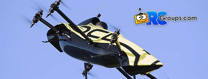 Manned Multirotor Aerobatic Drone