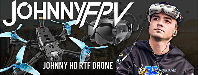 Lumenier QAV-R 2 JohnnyFPV Cinematic Quadcopter RTF w/ DJI Digital HD FPV System