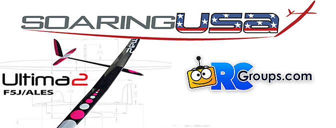 Soaring USA is North American Dealer for Ultima 2 F5J Gliders