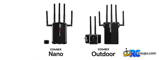 New Connex Nano and Outdoor Wireless Camera Systems