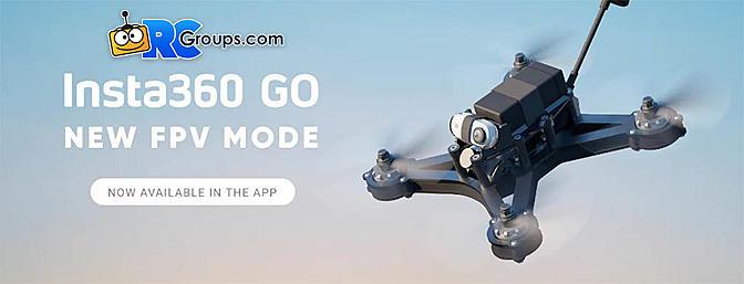 Insta360 GO FPV Mode