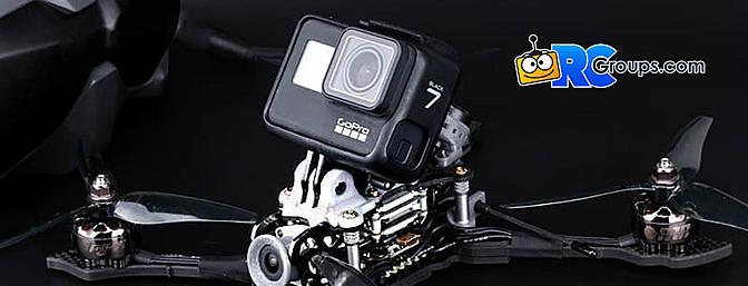 FlyWoo FPV 3D Printed Camera Mounts for DJI, GoPro