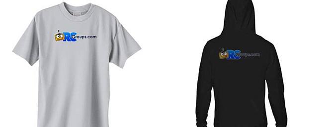 RCGroups Shirts and Hoodies!