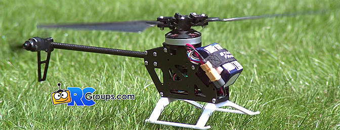 Fixed Pitch Drone/Heli Hybrid Custom Design