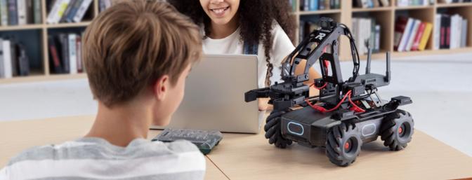 DJI RoboMaster EP Core STEM Robot