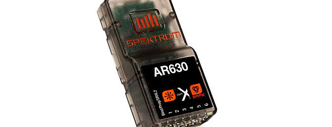 Spektrum AS3X SAFE AR630 Receiver