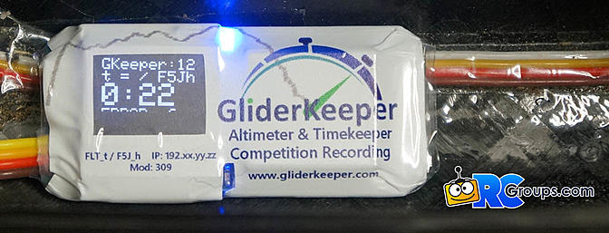 GliderKeeper F5J Timing Device Review
