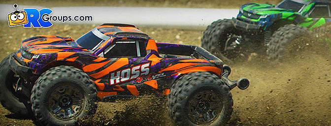 Traxxas Hoss 4X4 VXL Truck