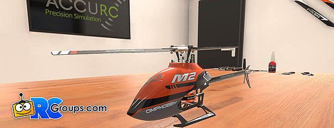 OMPHobby M2 Heli Coming to AccuRC Simulator