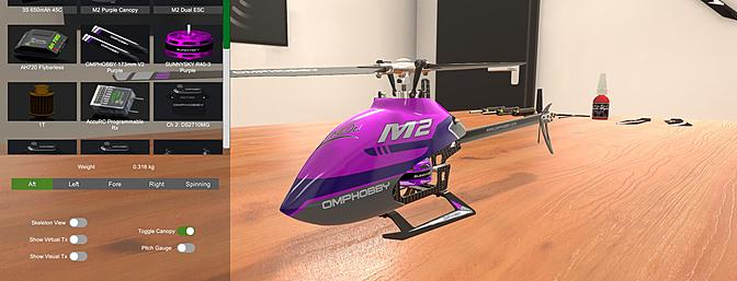 OMP M2 Heli Coming to AccuRC Simulator