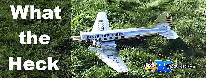 What the Heck Wednesday - DC3 Crash