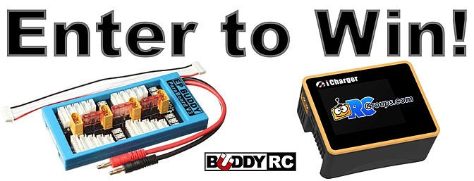 Enter to Win: Buddy RC iCharger Giveaway!!