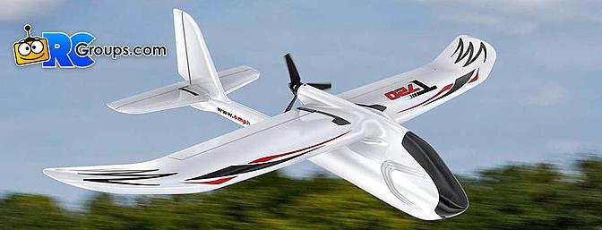 OMPHOBBY T720 RC Plane RTF 6-Axis Gyro Stabilizer