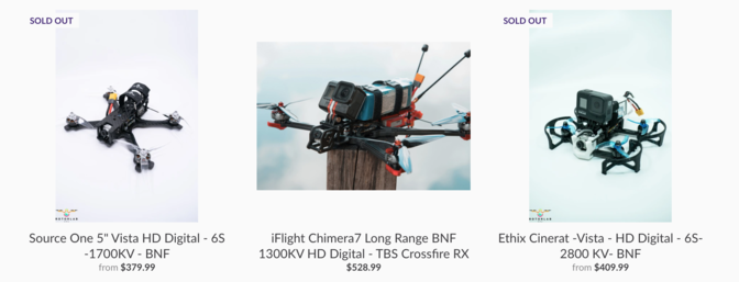 BNF Drones from RotorLab FPV