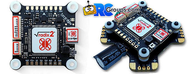 BrainFPV Radix 2 Flight Controller