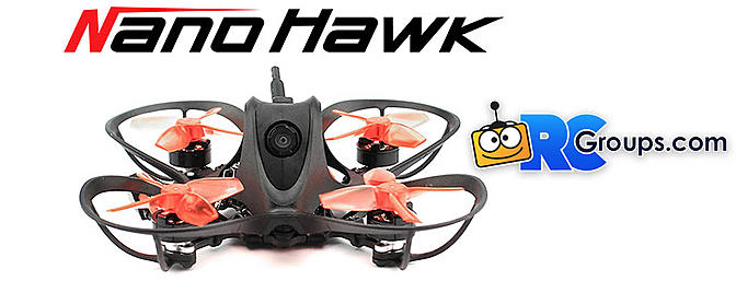 EMAX Nanohawk 1S Micro Brushless FPV Drone