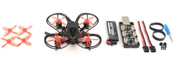 EMAX Nanohawk 1S Micro Brushless FPV Drone