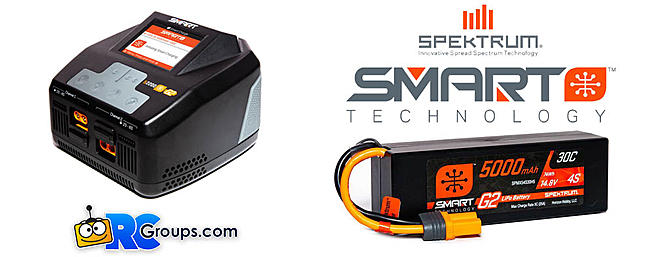 New Spektrum Generation 2 Smart Chargers and Batteries