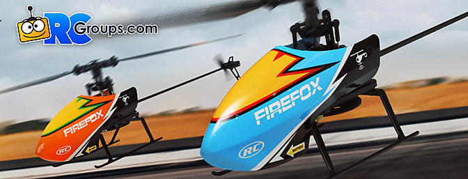 HobbyKing Firefox C129 4ch Flybarless Micro RC Helicopter
