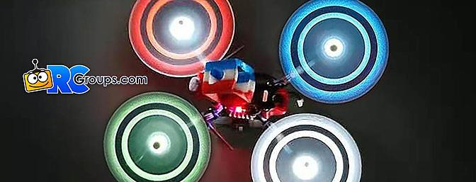 Gemfan Moonlight 3-Blade LED Props