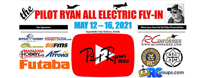 The Pilot Ryan All Electric Fly In - Mulberry, FL May 12-16