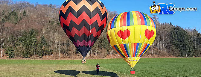 RC Hot Air Balloons are a Real Thing!