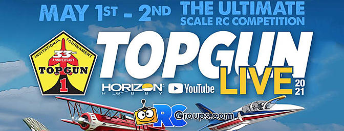 Watch Top Gun Live May 1st and 2nd