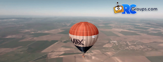 FPV with Hot Air Balloons - Video