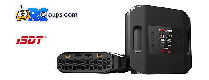 iSDT X16 2200 WATT Dual Port 2-16s AC Smart Charger