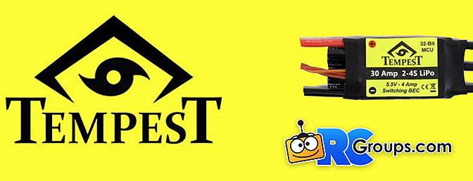 Innov8tive Designs Tempest ESC's and BEC's