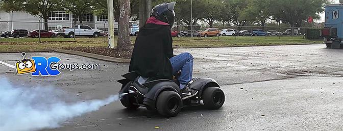 JetCat Powered Kids BatMobile