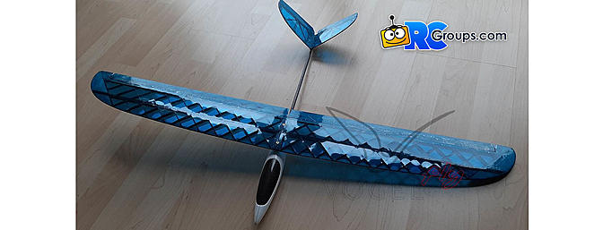 Vogel Fly BOO Micro Slope Glider