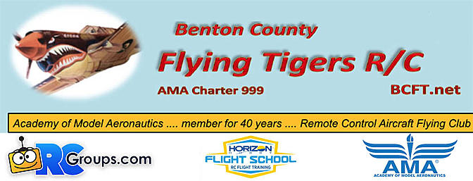 RCGroups Place of the Month - Benton County Flying Tigers