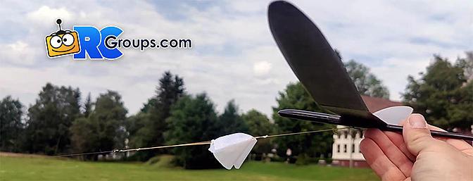 Homemade Micro Winch for Small Sailplanes