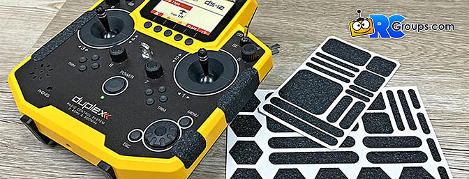 Pre-Cut Grip Pads for Your Transmitter