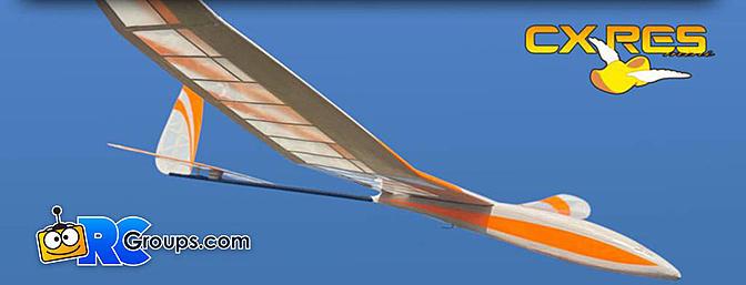 Aviation Toys CX RES Mini 1M RC Glider