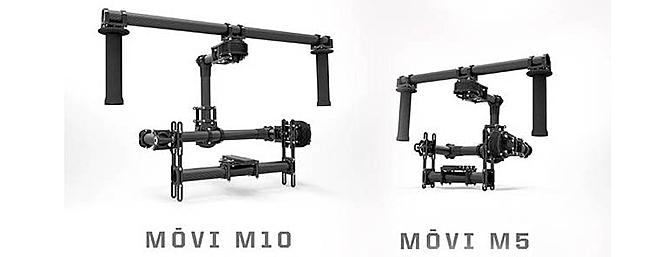 M10 and M5 indicate 10lb and 5lb camera weight limits respectively