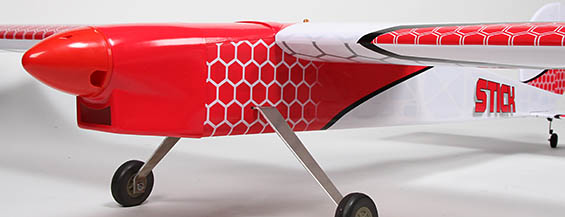 Sleek profile is great for sport flying