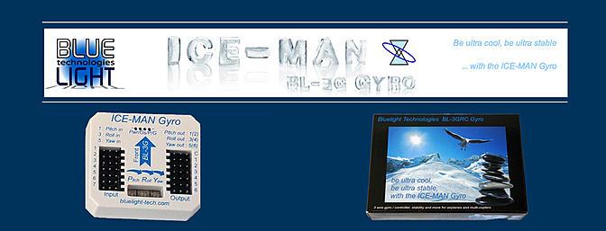 Ice-Man BL-3GRC Gyro - RC Groups