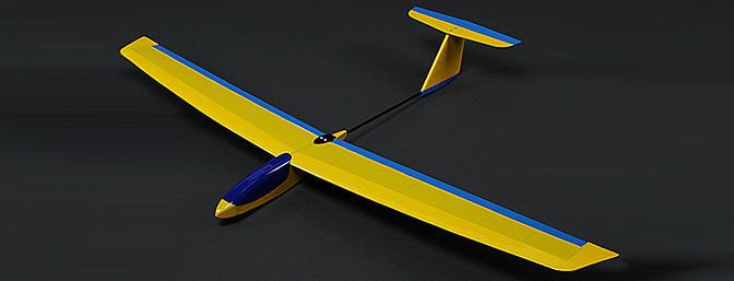 Guppy Mini Slope Glider Kit - RC Groups