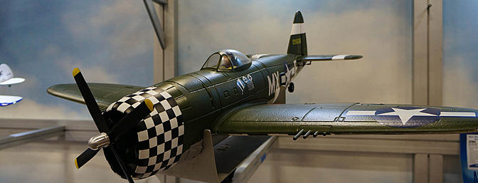 E-flite P-47D