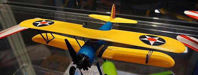 UMX PT-17 Bi-plane