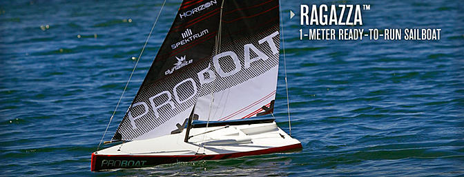 Pro Boat Ragazza 1 Meter Sailboat V2 - RC Groups